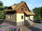 Готовый проект комфортного дома с уютной планировкой
